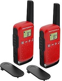 Рации Talkabout T42 Twin Pack, Red 2 шт - Motorola