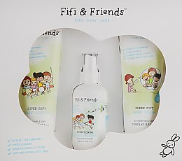 Набор для купания - Fifi & Friends The Bathtime Essentials (b/lot/250ml + b/wash/250ml + h/spray/150ml)