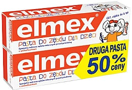 Набор (0-6 лет) - Elmex (tooth/paste/50ml*2)