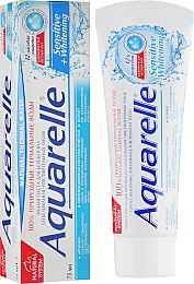 "Зубная паста ""Sensitive+Whitening"" - Sts Cosmetics Aquarelle Toothpaste"