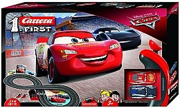 "Автотрек ""First Disney Pixar. Тачки"", довжина траси - 2,4 м - Carrera"