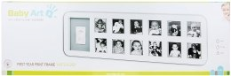 Рамочка First year Print Frame White & Grey - Baby Art