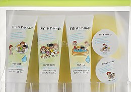 Набор для путешествий - Fifi & Friends Fifi's First Travel Essentials (b/wash/40ml + shm/40ml + b/lot/40ml + butter/15ml + b/cr/15ml)
