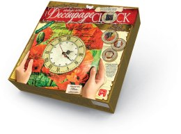 "Набор для творчества ""Decoupage Clock"", flower of love - Danko Toys"