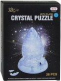"3D пазли ""Кристал"" батар., свет, 26 деталей - Crystal Puzzle"