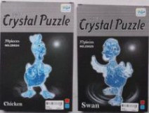 "3D пазли ""Курица"", 39 деталей - Crystal Puzzle"
