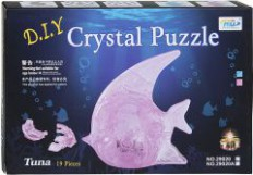 """3D пазли """"Рибка"""" батар., свет, 19 деталей, 29020 - Crystal Puzzle"""