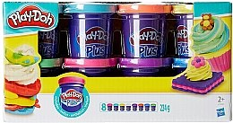 Пластилин Play-Doh Plus, 8 банок - Hasbro
