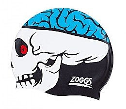 "Шапочка для плавання ""Junior Character Silicone Cap"", Blue Jaws - Zoggs"