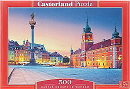 """Пазл """"Castle Square In Warsaw"""", 500 элементов - Castorland"""