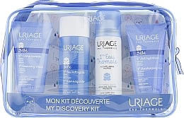 Набір - Uriage Babies (cleans/wather/100ml+cr/50ml+mil/50ml+therm/wather/50ml)