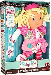 Кукла My First Baby Play and Learn Princess, 38 см - Baby`s First