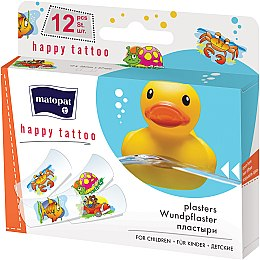 Медичний пластир Matopat Happy Tattoo - Matopat