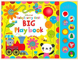 "Детская книга ""Baby's Very First Big Play Book"" (англ.) - Usborne Publishing Ltd"