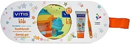 Набор - Dentaid Vitis Junior (Toothpaste/75ml + Toothbrush + pencil case)