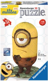 "3D Пазл ""Minion Кро"", 54 элемента - Ravensburger"