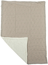 Плед Bubble stars & lamb blankets gray 110х80 - Interbaby