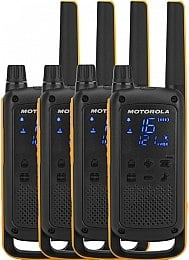 Рації Talkabout T82 Extreme Quad Pack We, 4 шт. - Motorola