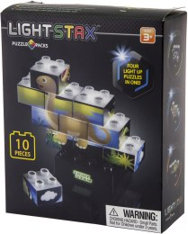 "Конструктор с LED подсветкой ""Junior. Puzzle Dinosaurer Edition"" - Light Stax"