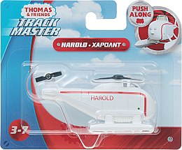 "Паровозик ""Томас и друзья"" Track Master, Harold - Thomas & Friends Fisher-Price"