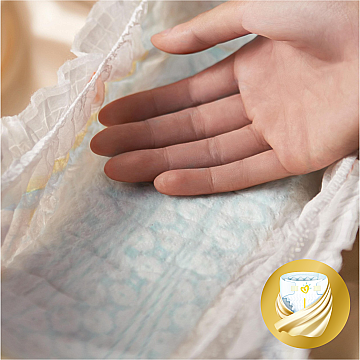 Подгузники Pampers Premium Care Mini (3-6 кг), Эконом 80шт - Pampers  — фото N4