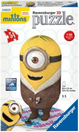 "3D Пазл ""Minion Bored Silly"", 54 элемента - Ravensburger"