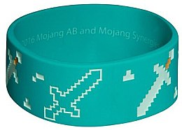 Браслет Minecraft Explorer Rubber Bracelet One Size - Minecraft Jinx