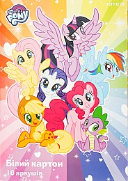 "Картон белый ""My Little Pony"", 10 листов - Kite"