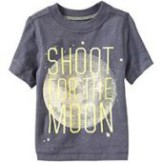 """Футболка """"Shoot for the Moon"""" Tee Knight Time - Old Navy"""