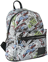 Рюкзак Casual Fashion Faux-Leather Marvel Comix Backpack - Cerda