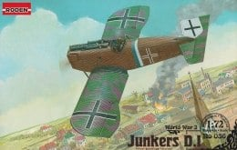 Самолет Junkers D.I WWI German fighter (late), 1:72 - Roden