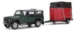 "Автомодель ""Land Rover and Horsebox"", (1:43) - Cararama"