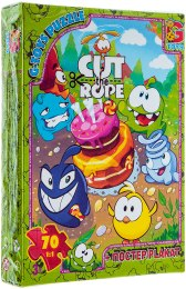 """Пазлы """"Cut the Rope"""", 70 элементов - G-Toys"""