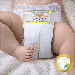 Подгузники Pampers Premium Care Mini (3-6 кг), Эконом 80шт - Pampers  — фото N3