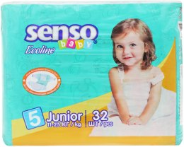 Підгузки Senso Baby Ecoline Junior 5 (11-25 кг) 32 шт. - Senso Baby