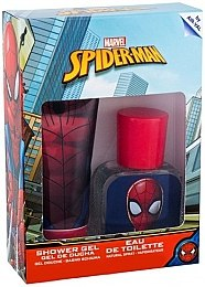 Air-Val International Spiderman - Набор (edt/30ml + sh/gel/70ml)