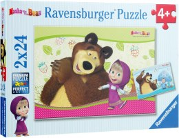 "Пазл ""Masha and the Bears"" - Ravensburger"