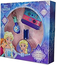 Air-Val International Disney Frozen - Набор (edt/30ml + key/ring + 2/bracelets)
