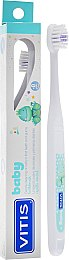 Зубная щетка детская 0+, белая - Dentaid Vitis Baby Toothbrush