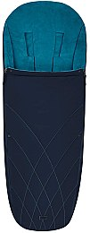 "Чехол для ног ""Platinum Footmuff"", Nautical blue navy blue - Cybex"