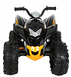 Квадроцикл Powersport ATV 12V, Black - Rollplay