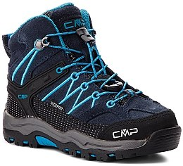 "Ботинки ""KIDS RIGEL MID TREKKING SHOES "" для мальчика, синие - CMP"