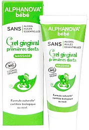 Гель для масажу ясен - Alphanova Bebe Gel Gingival Premieres Dents