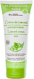 Лінімент крем 4 в 1 - Alphanova Baby Liniment Cream 4 in 1