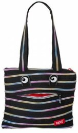 "Сумка ""Monsters Tote Beach Bag"", черная - Zipit"