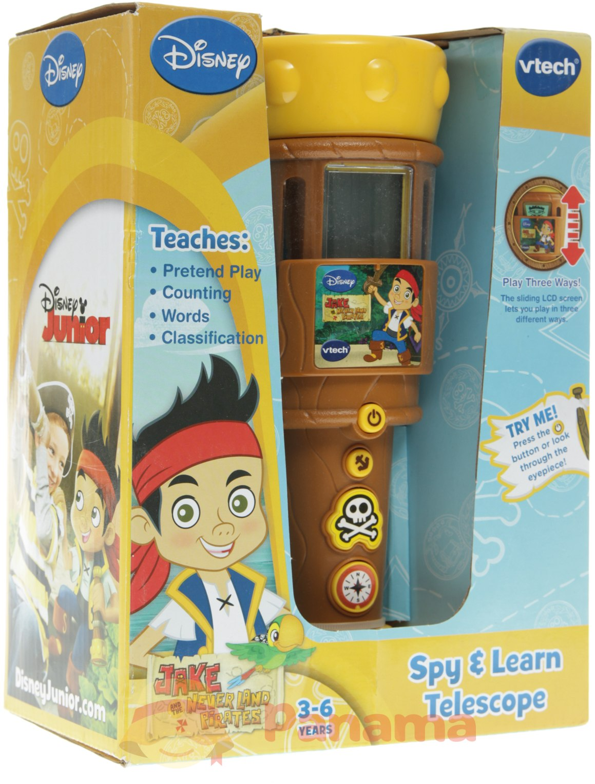 VTech Jake and the Never Land Pirates Spy and Learn ...