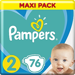 Подгузники Pampers Active Baby 2 (4-8кг), 76 шт. - Pampers