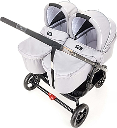 Люлька External Bassinet Snap Duo, Cool Grey - Valco Baby