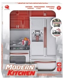Кухня Modern Kitchen №1, 27х9,5х34,5см - Qun Feng Toys