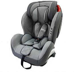 Автокрісло Me 1057 Bastion Isofix, Light Grey - El Camino